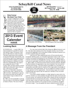2013 Canal newsletter
